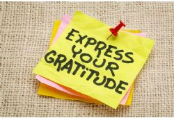 Developing Gratitude for Health