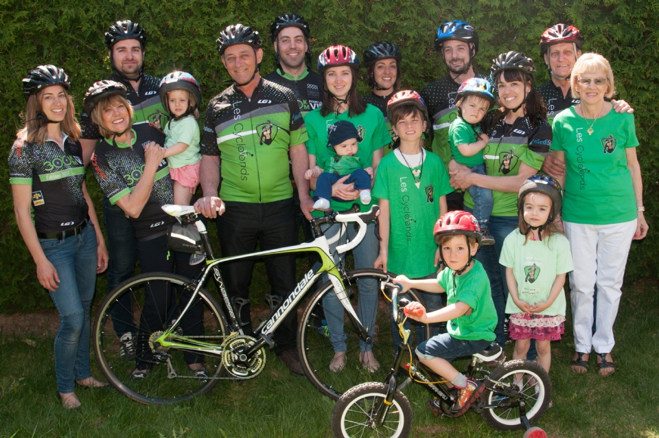 300 KM pour la VIE: The Bike Ride for Life | Laval Families Magazine | Laval's Family Life Magazine