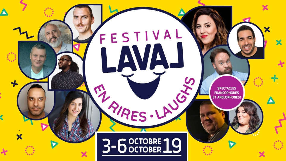 The Second Edition of Festival Laval Laughs | Laval Families Magazine | Laval's Family Life Magazine
