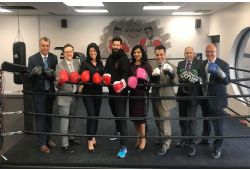 Boxer Jeffrey Furtado and Laval City Counsellors Fight for a Cure