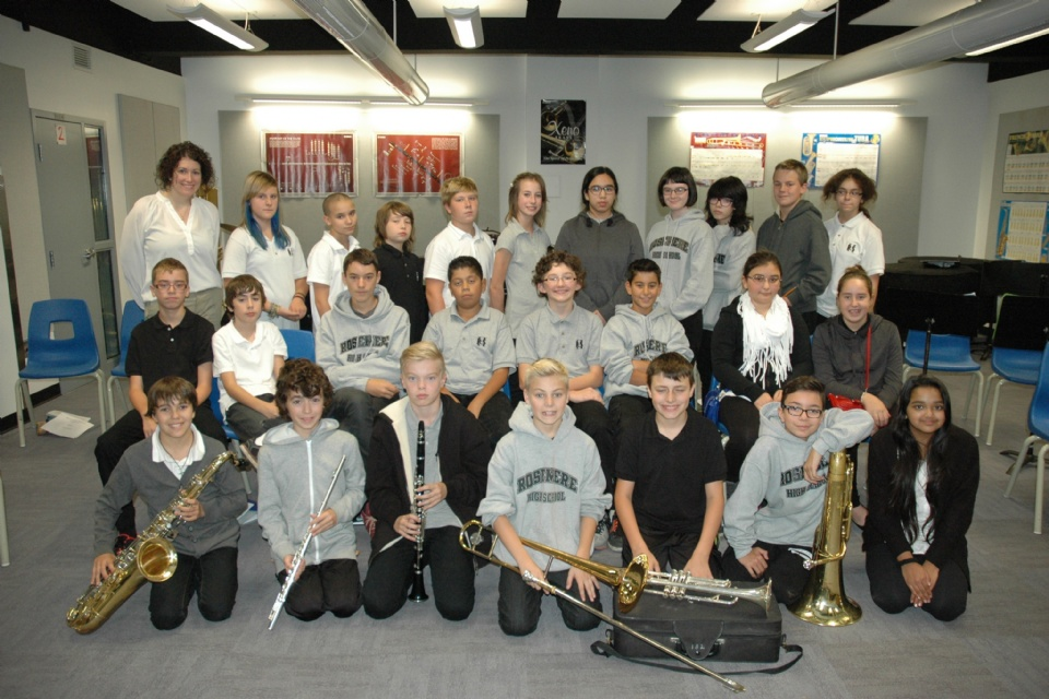There's a history and there's a future: The Rosemere High School Music Program | Laval Families Magazine | Laval's Family Life Magazine