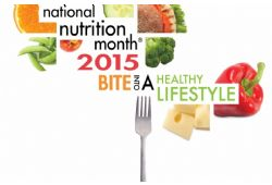 March is National Nutrition Month and a great time to think about the importance of healthy eating