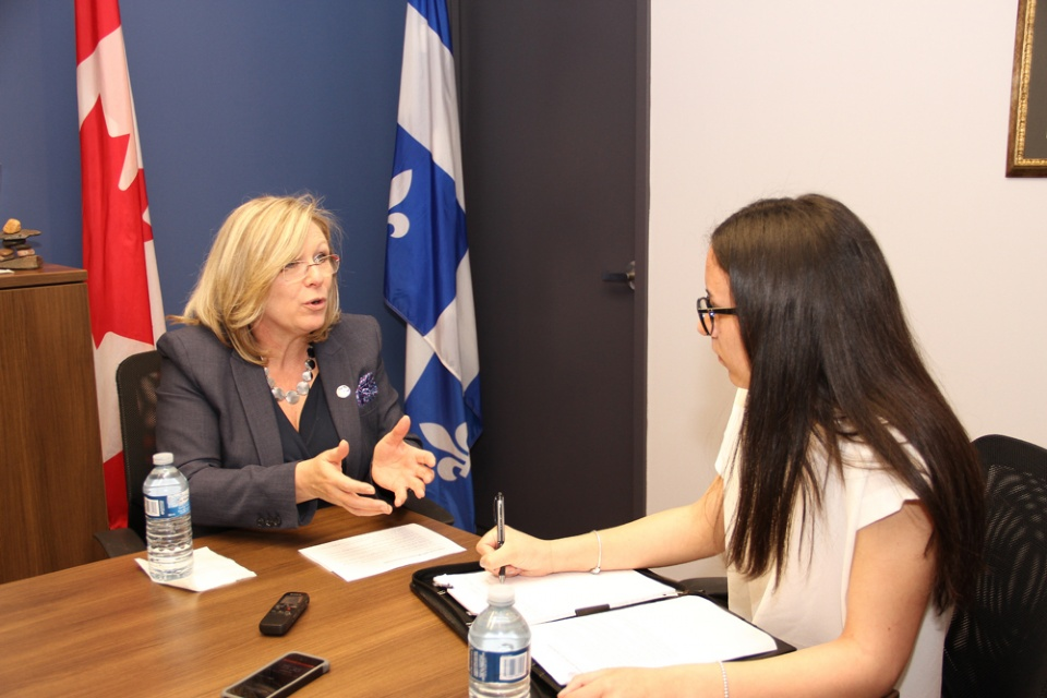 Interview with Minister Charbonneau | Laval Families Magazine | Laval's Family Life Magazine