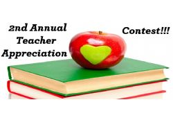 The 2nd Annual Teacher Appreciation Contest