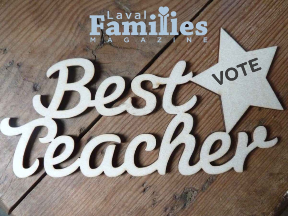 Vote for Your Favorite Teacher - June-August 2017 Issue