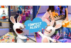 Rabbids Amusement Center - WIN ONE OF 10 FAMILY PASSES