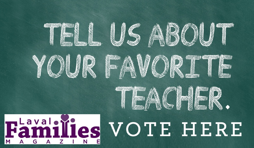 Vote for Your Favorite Teacher - September - October 2017 Issue