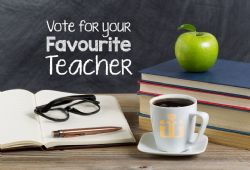 Vote for Your Favourite Teacher - September - October 2018 Issue